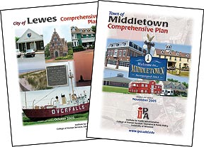 municipal plans series covers graphic