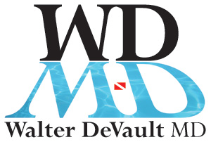 logo for Walter DeVault, M.D.