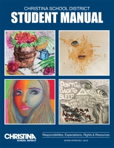 2018-19 Christina School District Student Manual cover