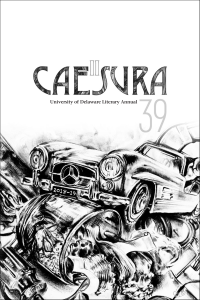 cover of Caesura, the University of Delaware Literary Annual