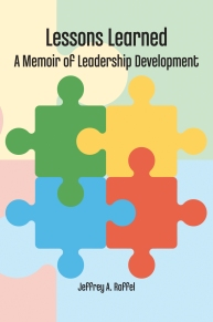 photo of cover of Lessons Learned book by Jeffrey A. Raffel
